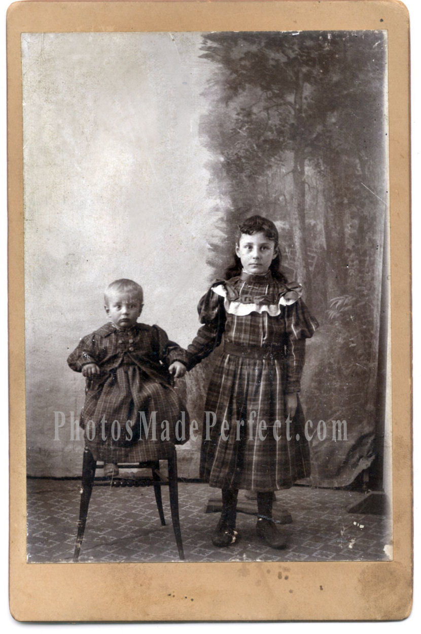 Dating photographs children's clothing